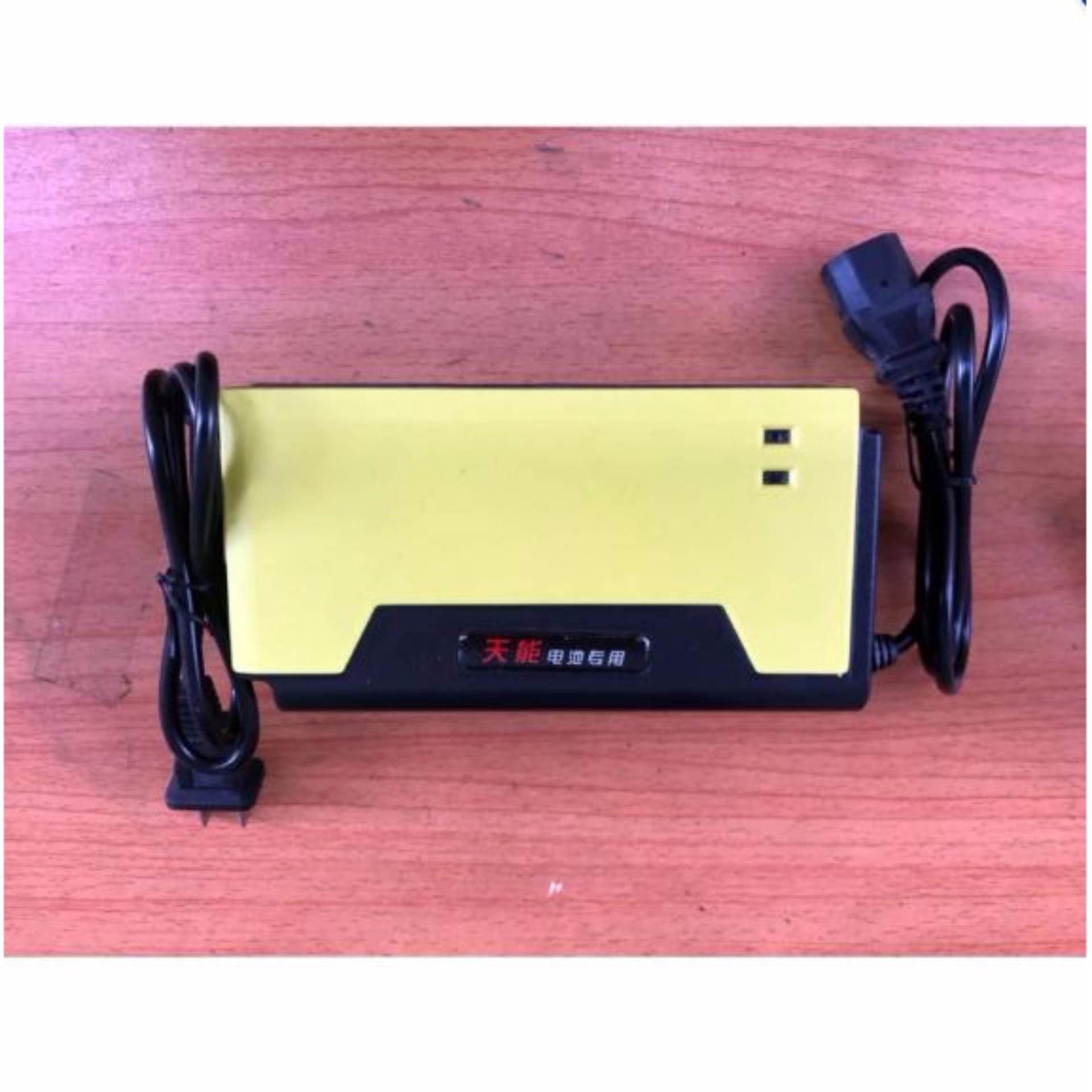 Sạc xe máy điện tự động nguồn điện 48V - 20Ah Nhung Shop