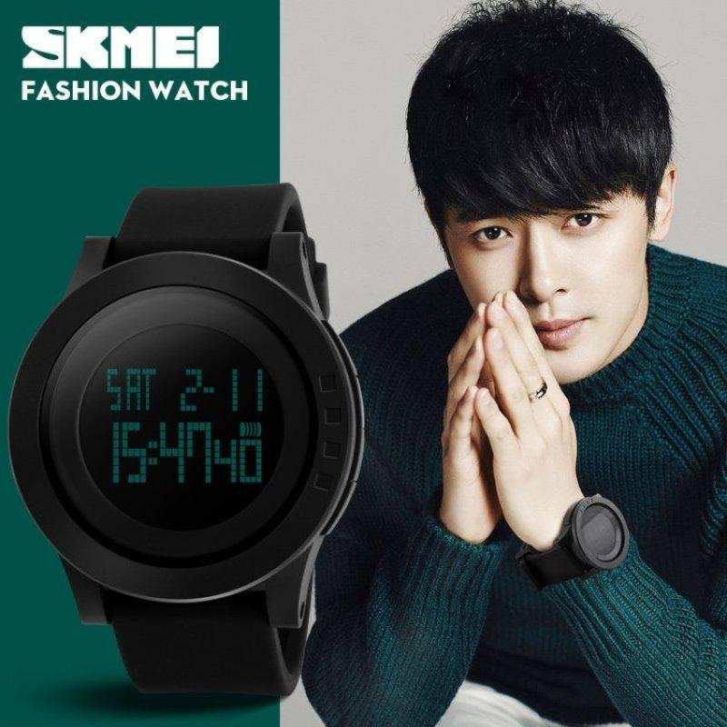 Nơi bán SKMEI 1142 Mens Simple Fashion Big Dial LED Digital Watch - intl