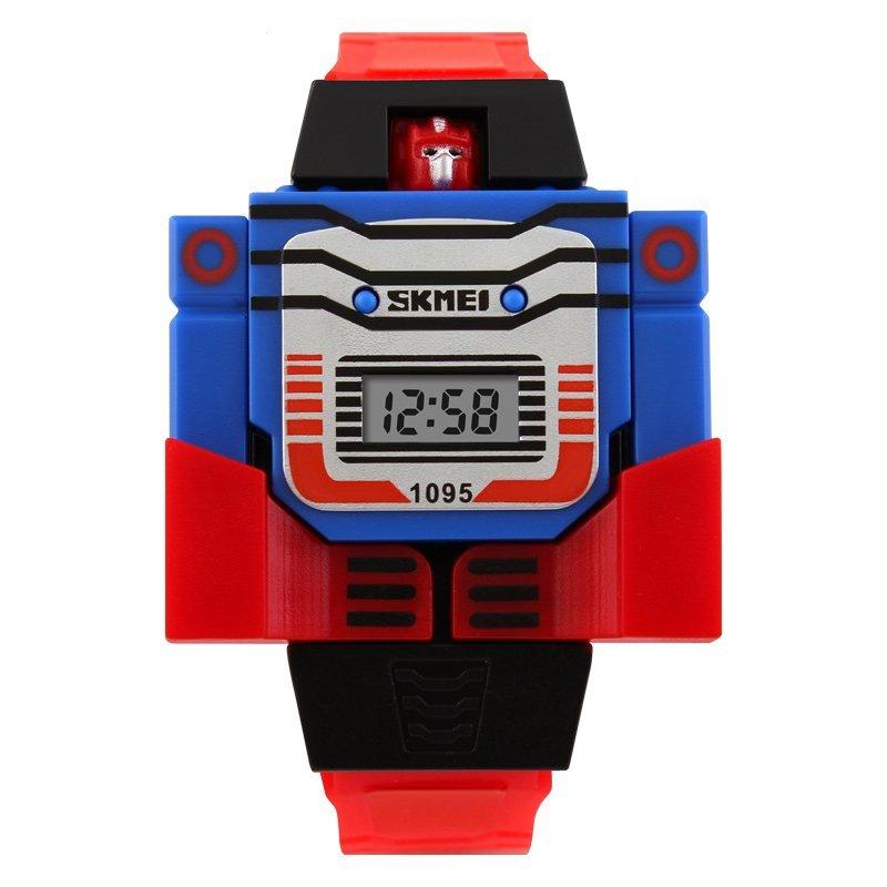 Nơi bán Đồng hồ đeo tay kỹ thuật số Robot trẻ em SKMEI 1095  (Màu xanh) - Quốc tế