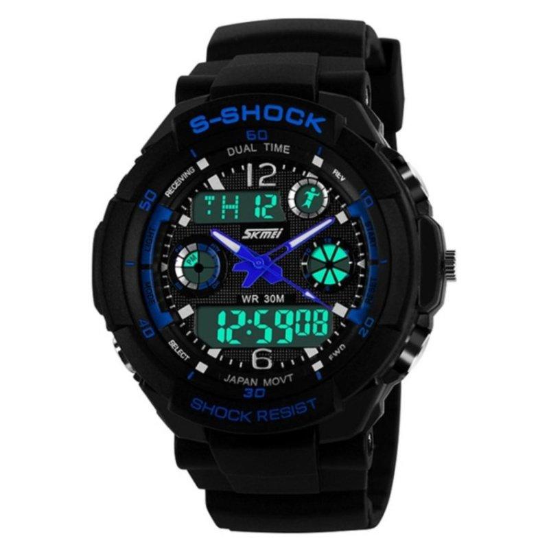 Nơi bán SKMEI Water Resistant 0931 LED Watch Blue - intl