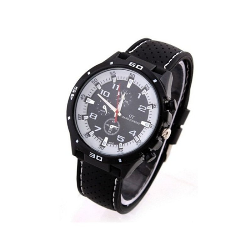 Nơi bán Sport Military Army Cool Wristwatch Black(Not Specified)(OVERSEAS) - intl