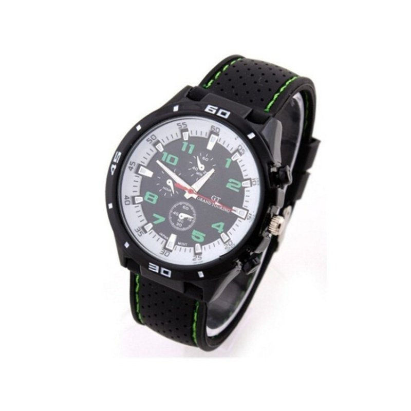 Nơi bán Sport Military Army Cool Wristwatch Green(Not Specified)(OVERSEAS) - intl