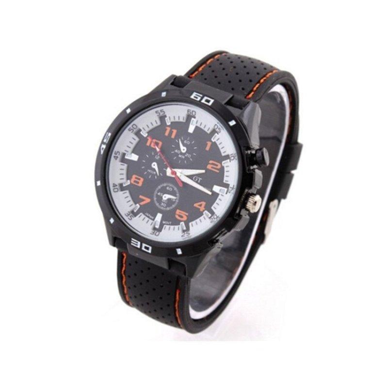 Nơi bán Sport Military Army Cool Wristwatch Orange(Not Specified)(OVERSEAS) - intl