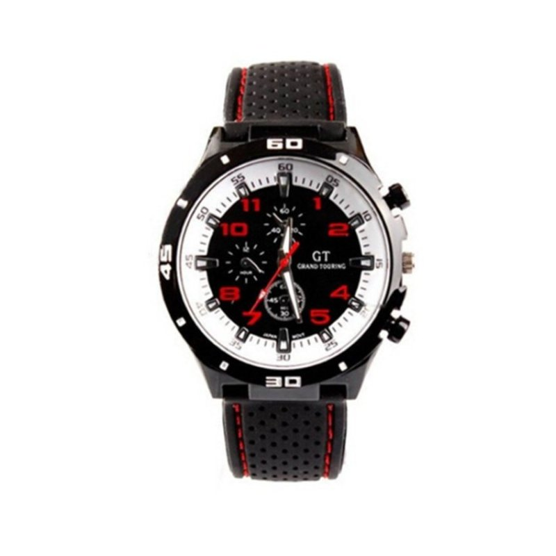 Nơi bán Sport Military Army Cool Wristwatch Red(Not Specified)(OVERSEAS) - intl