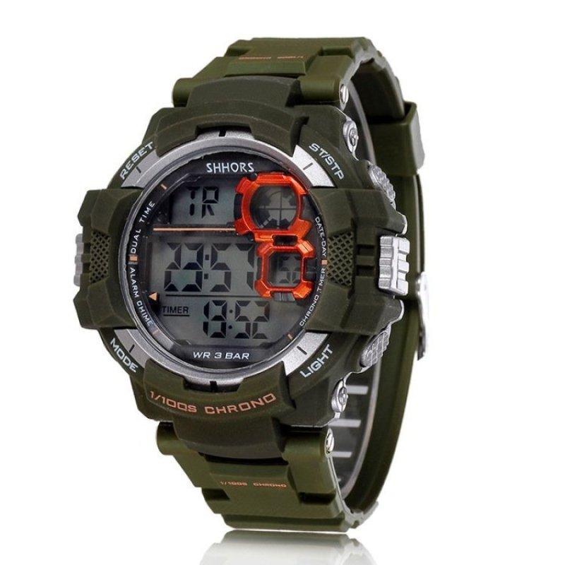 Nơi bán Sports Men Digital LED Quartz Wrist Watch - intl