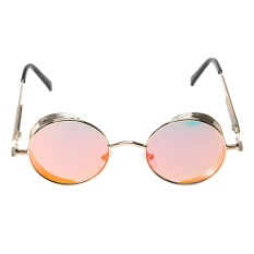 Bảng Giá Steam Punk Vintage Metal Circle Chic Punk Sunglasses(Gold)-one size – intl   UNIQUE AMANDA