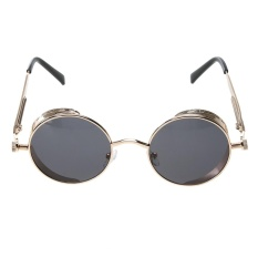 Bảng Báo Giá Steam Punk Vintage Metal Circle Chic Punk Sunglasses(Grey)-one size – intl   UNIQUE AMANDA