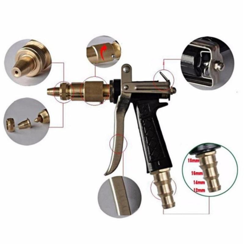 Súng xịt rửa chuyên nghiệp tăng áp lực nước 300% GDX-6033