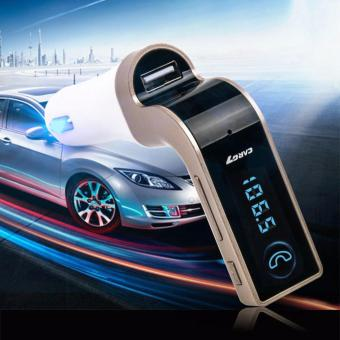 Tẩu sạc nghe nhạc G7 vàng cao cấp dành cho xe hơi - 2