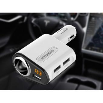 Tẩu sạc xe hơi Hyundai 1 nguồn 3 cổng USB A301 (Trắng) - Hàng nhậpkhẩu - 8201397 , HY657OTAA3OOL8VNAMZ-6554465 , 224_HY657OTAA3OOL8VNAMZ-6554465 , 240000 , Tau-sac-xe-hoi-Hyundai-1-nguon-3-cong-USB-A301-Trang-Hang-nhapkhau-224_HY657OTAA3OOL8VNAMZ-6554465 , lazada.vn , Tẩu sạc xe hơi Hyundai 1 nguồn 3 cổng USB A301 (Trắng)
