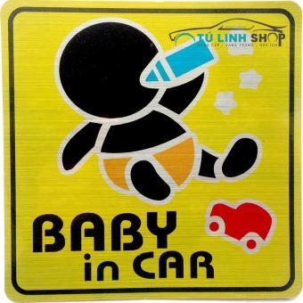 Tem Baby in Car (Mẫu 4)