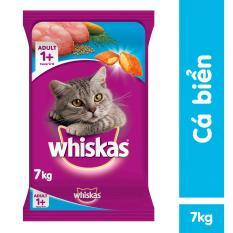 Thức ăn mèo Whiskas vị cá biển bao 7kg