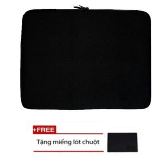 Túi Chống Sốc Cho Laptop 15ich.6 s45 (đen) + Tặng Bàn Di Chuột (đen)