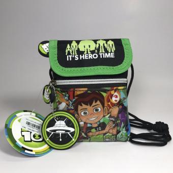 Túi Đeo Chéo 1 dây BEN 10 hàng THÁI LAN 10x2x14cm dành cho bé TRAI