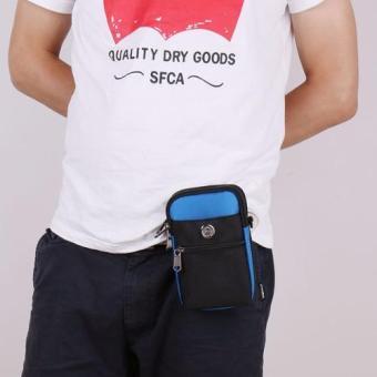 Túi đeo đai quần thắt lưng có móc khóa + Tặng dây Đeo chéo đa năngH142 - 4