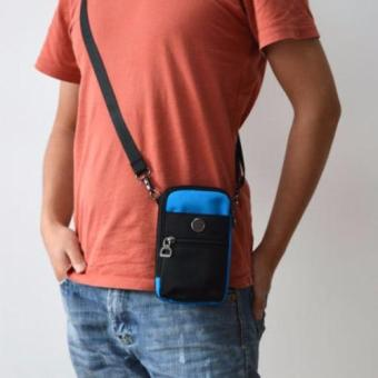 Túi đeo đai quần thắt lưng có móc khóa + Tặng dây Đeo chéo đa năngH142 - 5