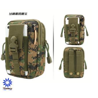 Túi đeo hông phong cách thể thao, tiện lợi đi du lịch TN03 (Đen) - 4