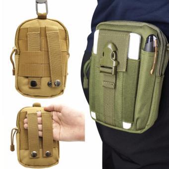 Túi đeo hông phong cách thể thao, tiện lợi đi du lịch TN03 (Đen) - 5