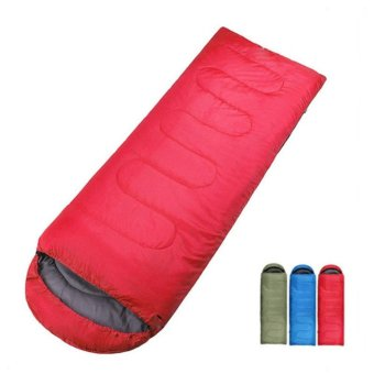 Túi ngủ gấp gọn thông minh - màu đỏ