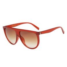Giá Unisex Street Snap Twin-beam Big Frame Full Match Sunglasses(Red)-one size – intl  UNIQUE AMANDA