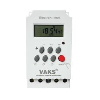 VAKS - Công tắc hẹn giờ 17 chương trình Electron timer KG 316T-II