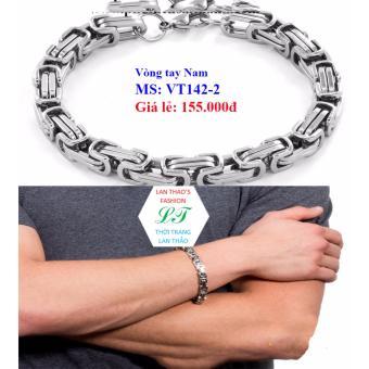 Vòng tay Inox Nam ziczac Ver2 VT142