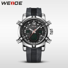 Bảng Báo Giá WEIDE WH 30 Meters Water Resistant LCD Quartz Stopwatch Running Sports Watches for Men Black – intl   Nest9