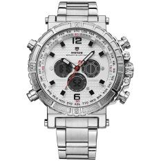 Cập Nhật Giá WEIDE WH6305 Outdoor Sports Waterproof Men's Stainless Steel Strap Watches – intl  NanXiangZi