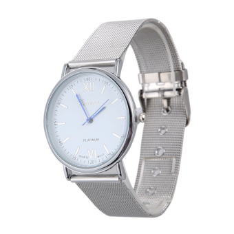 Women Dress Men Business Watch (Silver) (Intl)