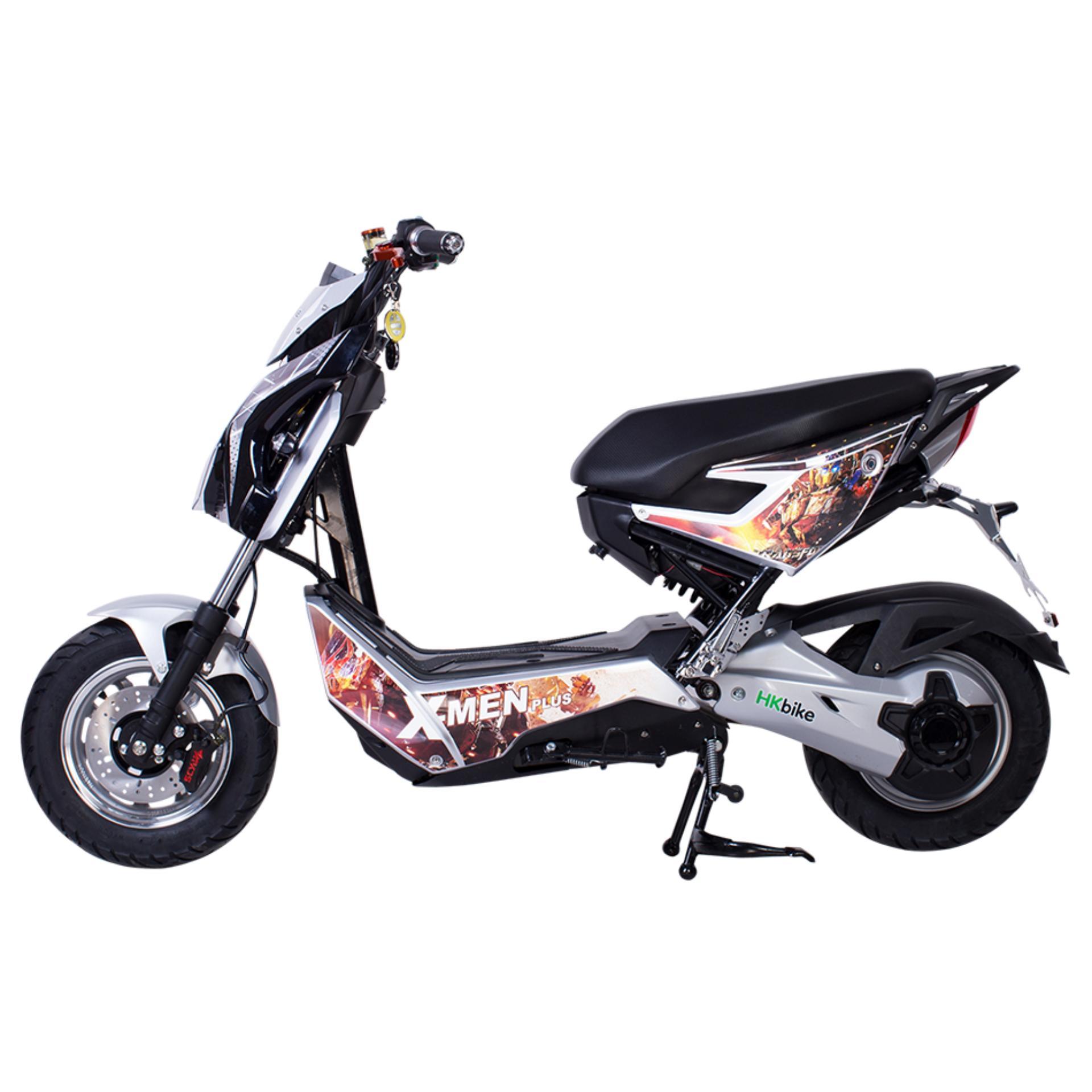 Xe máy điện HKbike Xmen Plus (màu Trắng)