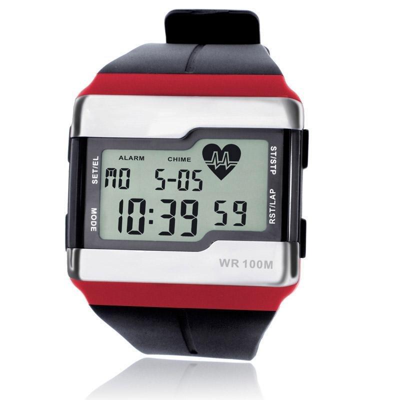 Nơi bán YBC Man Calorie Test Sports Heart Rate Luminous Waterproof Watch - intl
