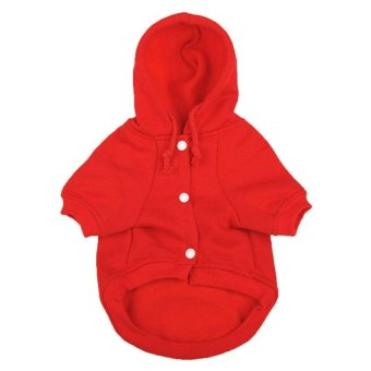 yoouino Fashion Soft Cotton Dog Hoodie Pet Clothes - intl
