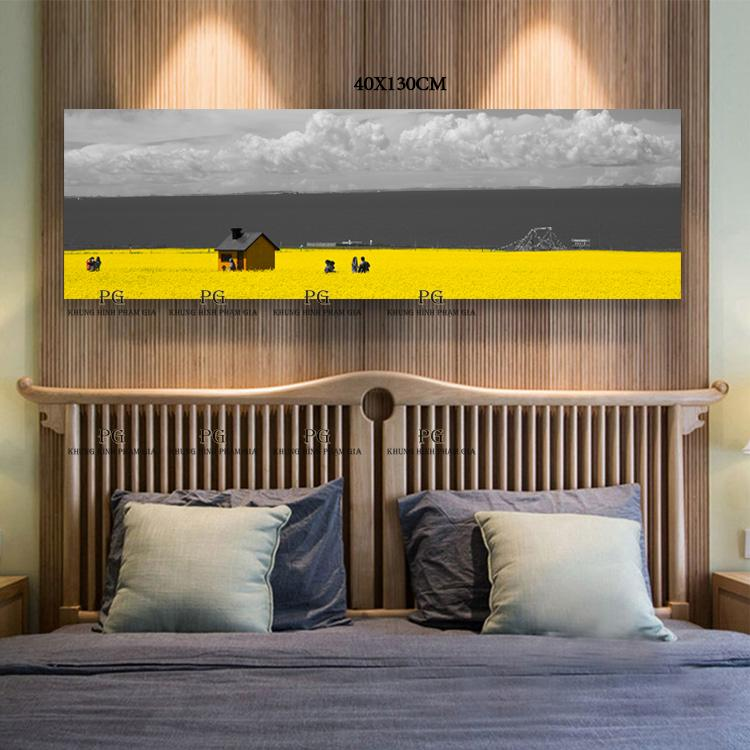 Tranh Canvas Đơn Nghệ Thuật Tranh Treo Phòng Khách Và Phòng Ngủ - Khung Hình Phạm Gia PGKL1434