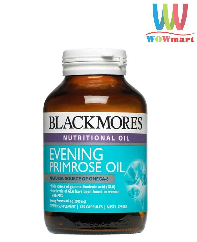 Tinh dầu hoa anh thảo Blackmores Evening Primrose Oil 125 viên - [ÚC]