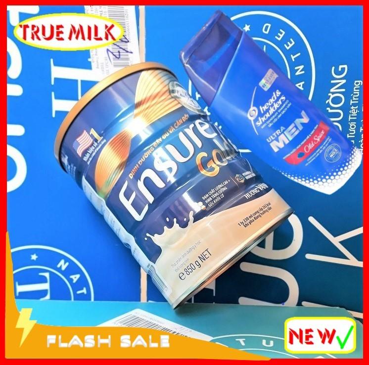 Ensure Gold 850g Vani (Tặng dầu gội hương Nước Hoa Head & Shoulder) - Ensure Gold - Ensure Vani - Gold 850 - Ensure Vani - Lon sữa bột ensure gold - ensure gold hương vani - Ensure gold HMB