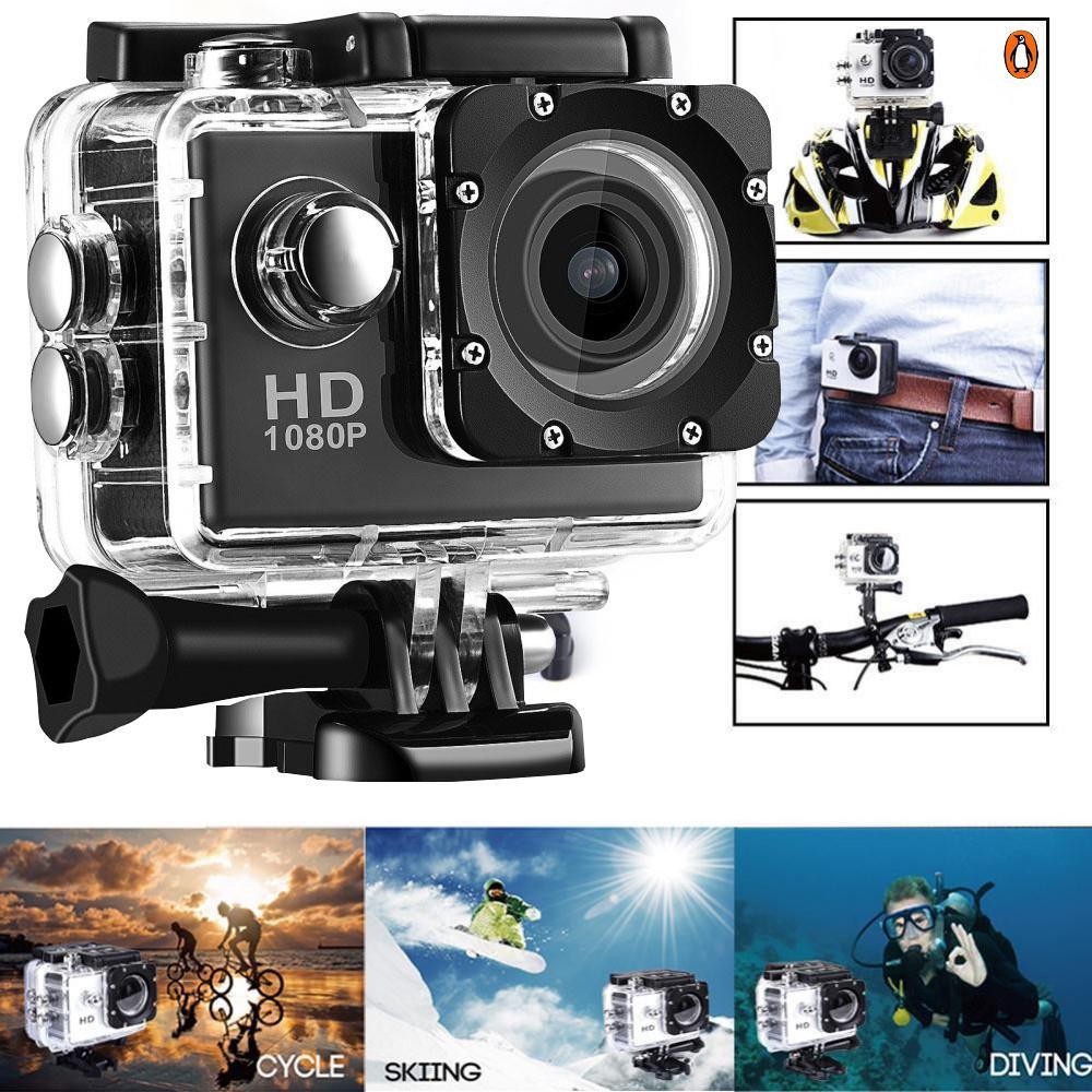 Camera gắn mũ bảo hiểm,Bán Camera Đi Phượt, Camera Hành Trình 1080 Sports Cao Cấp Đa Năng Chất Lượng Full Hd 1080,Có Chống Rung Kèm Chống Bụi,Chống Nước ( BẢO HÀNH 1 ĐỔI 1)
