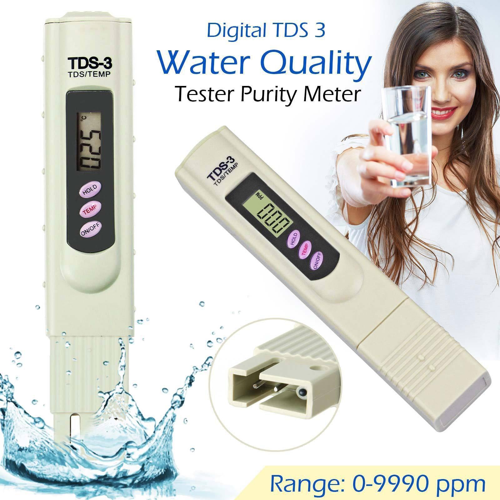 Thiết bị kiểm tra chất lượng nước, bút đo độ tinh khiết của nước, bút đo ph nước, cách sử dụng bút thử nước, Bút thử nước TDS-3 đo nhanh chóng, có độ chính xác cao, an toàn. Bảo hành 1 đổi 1