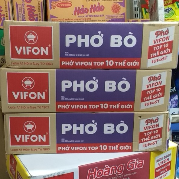 Phở Vifon 65g ( thùng 30 gói )(Phở gà)