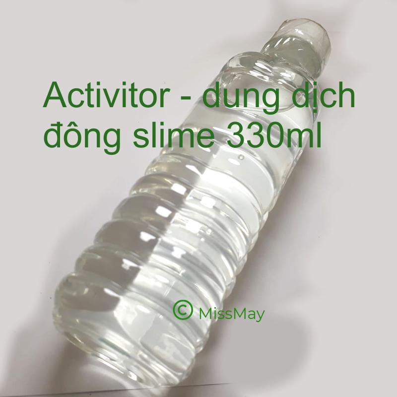 Dung dich đông slime borax pha sẵn - Activitor 330 ml