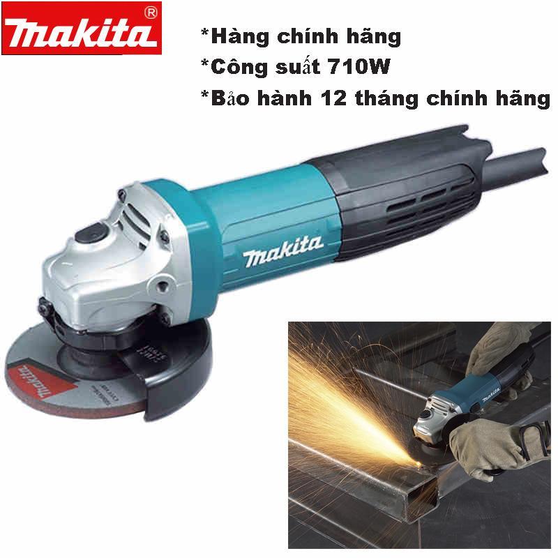 Máy mài Makita 9556nb Công suất 800W Động cơ mãnh mẽ Cửa hàng chính góc nhận cung cấp máy mài cắt cho công trình lớn.