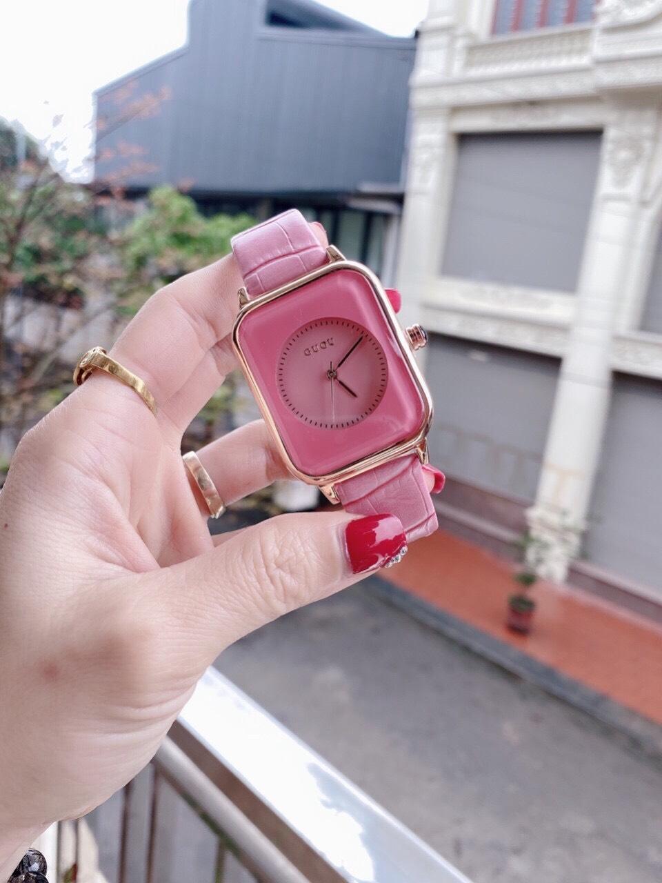 Đồng hồ Nữ GUOU Dây Mềm Mại đeo rất êm tay, Chống Nước Tốt, Bảo Hành Máy 12 Tháng Toàn Quốc 3