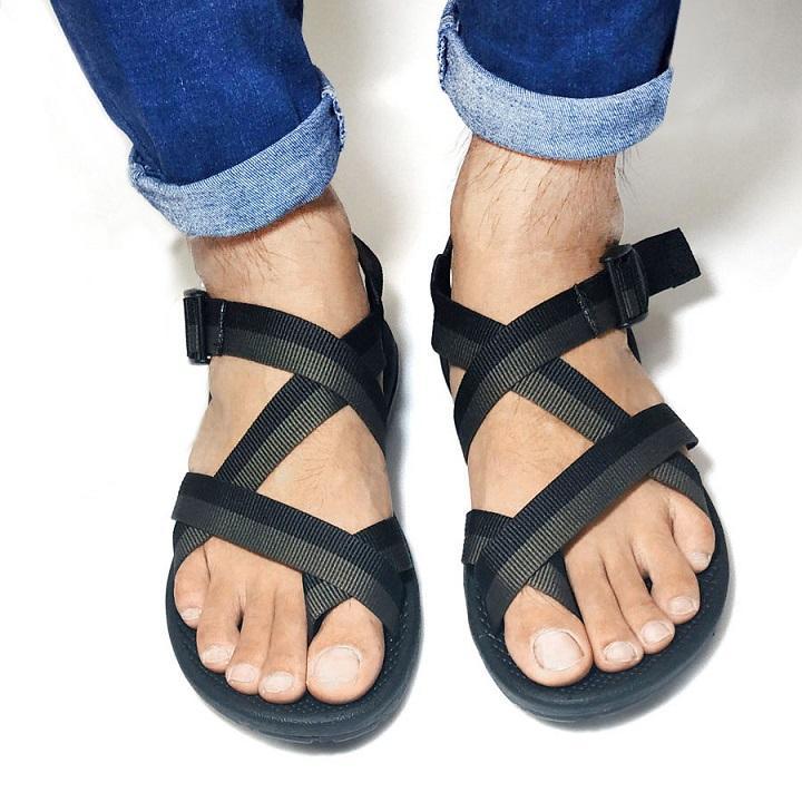 Dép sandal nam cao cấp xuất khẩu thời trang thương hiệu Vento RV117 Giày Xăng Đan Nam