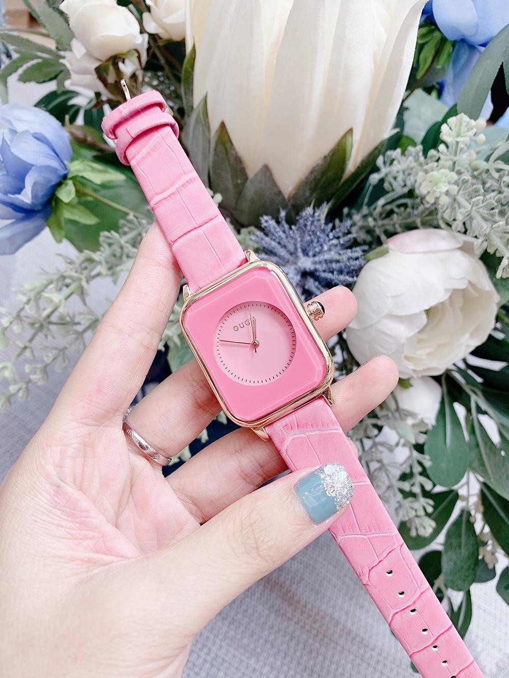 Đồng hồ Nữ GUOU Dây Mềm Mại đeo rất êm tay, Chống Nước Tốt, Bảo Hành Máy 12 Tháng Toàn Quốc 2