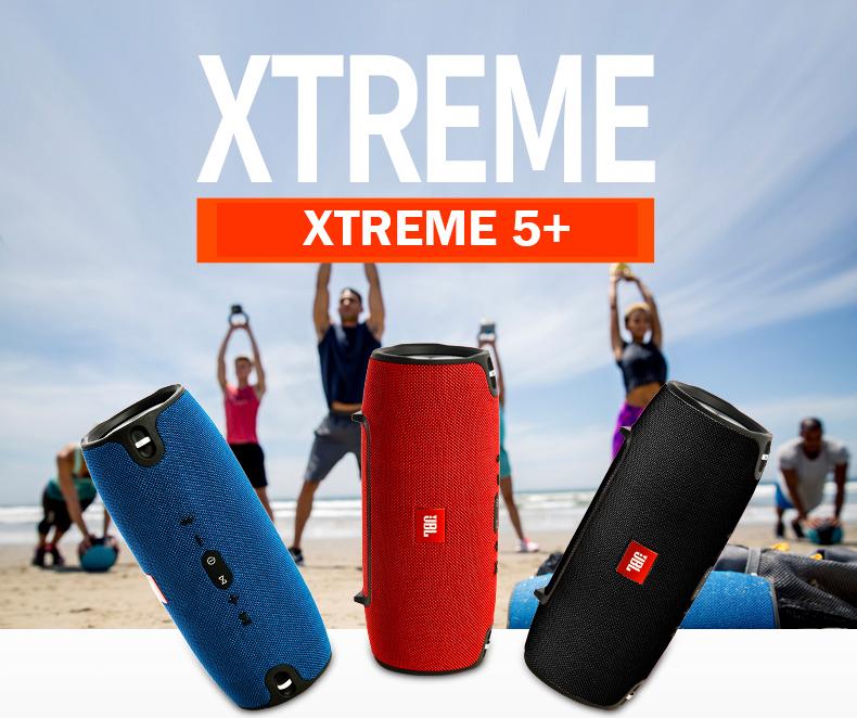 Hình ảnh [ Thiết Kế Mới 2020] Loa bluetooth không dây nghe nhạc Xtreme 5 siêu bass vỏ chống thấm nước có dây đeo, âm thanh chân thực, âm bass rõ nét, hỗ trợ kết nối USB, thẻ nhớ TF, AUX 3.5mm, siêu công suất