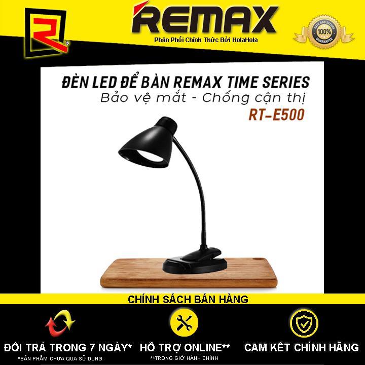 Đèn Led để bàn Remax Time Series RT-E500 nút cảm ứng bảo vệ mắt, chống cận thị - Hãng Phân Phối Chính Thức