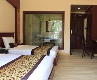Deal Sốc đón hè - Phòng Deluxe Partial Sea View 2N1Đ tại Ca Ty MuiNe Resort 4 sao