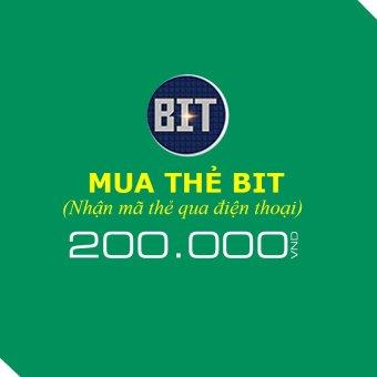 Mã thẻ Game BIT 200.000