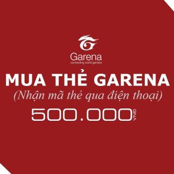 Mã thẻ Game Garena 500.000