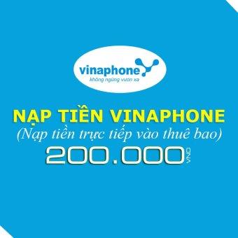 Nạp tiền Vinaphone 200.000