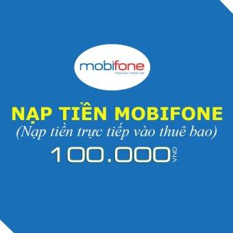 Nạp tiền Mobifone 100.000